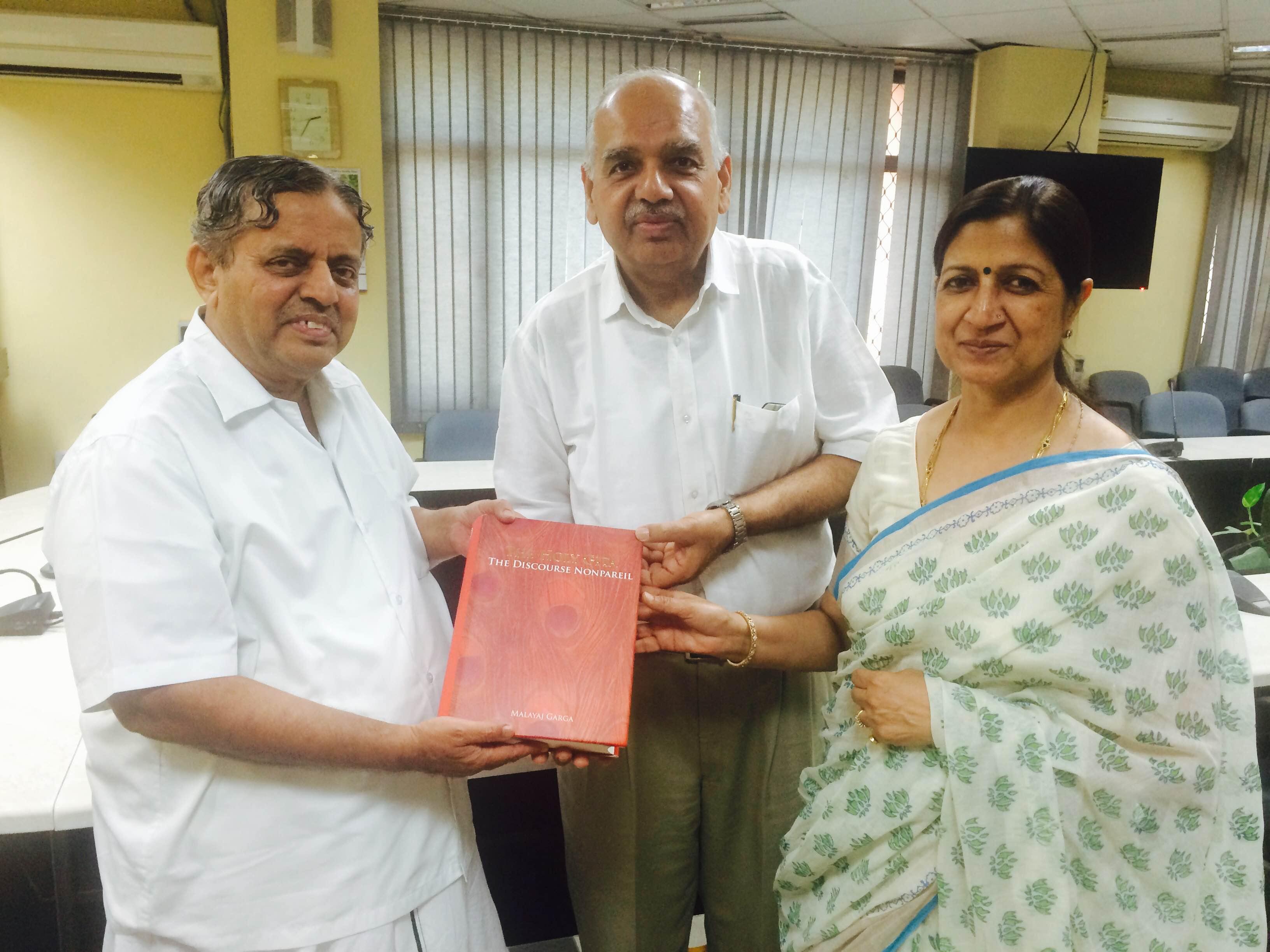 Mr. Malayaj Garga at Vivekanand International Foundation